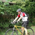 """Steve on the bike Photo """"Borrowed"""" from: Hudson Photographic"""