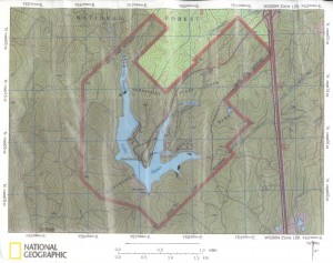 Huntsville State Park - Topo (22M)