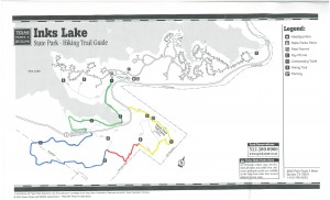 Inks Lake State Park - Trails